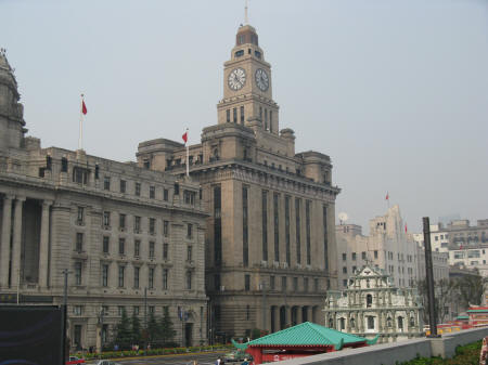 Customs House In Shanghai China Historical Building On