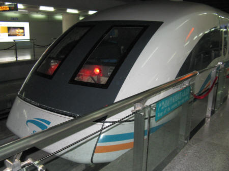 Shanghai's High Speed Maglev Train