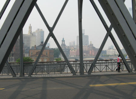 Suzhou Creek in Shanghai China