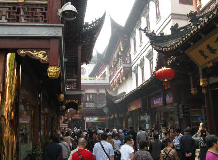 Yu Gardens in Shanghai China